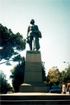Statuia lui Gorki in Primorski Parc Yalta